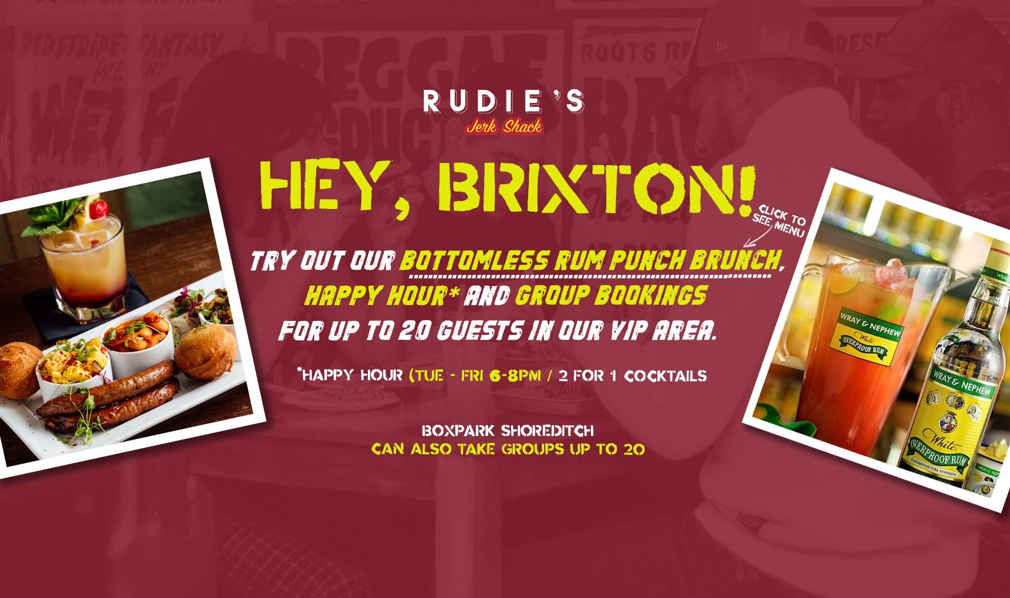 brixton brunch menu